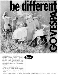 1968 Be Different USA-lich-su-vespa