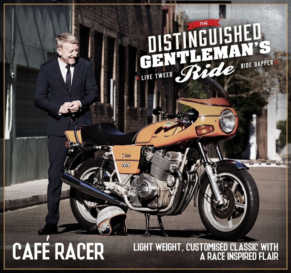 The Distinguished Gentleman's Ride  (DGR)