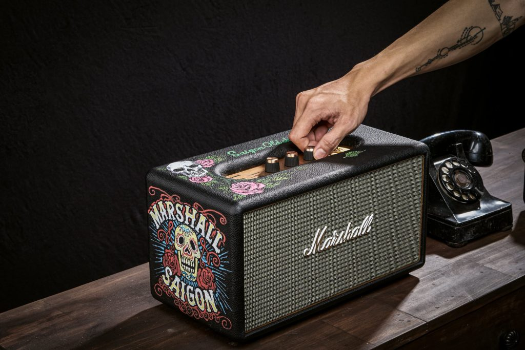 loa-marshall-stanmore-OldSkull-paint-version-limited