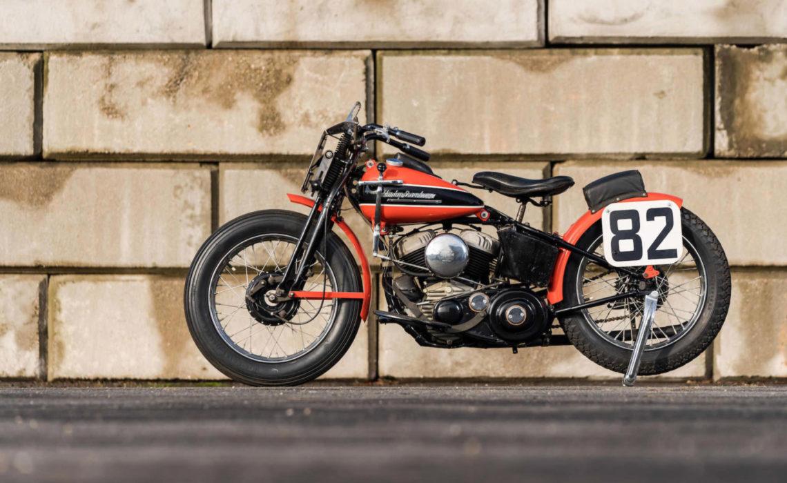 Nguyên bản Harley-Davidson WRTT 1951 – Road Racing Motorcycle