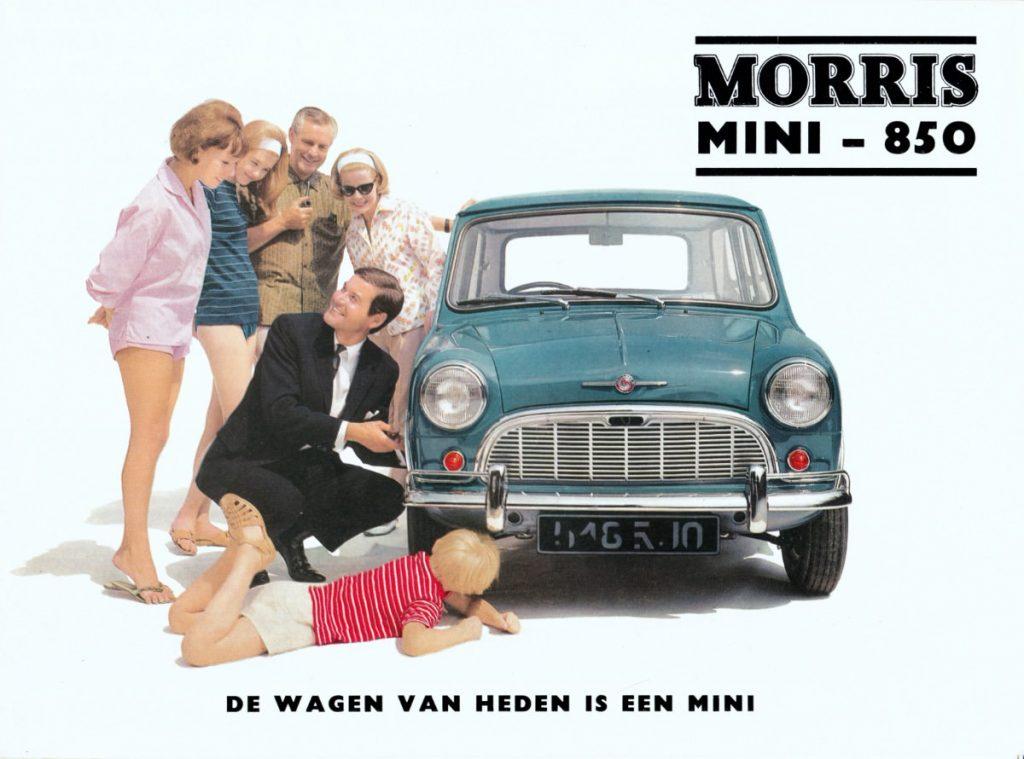 1966 mini saloon